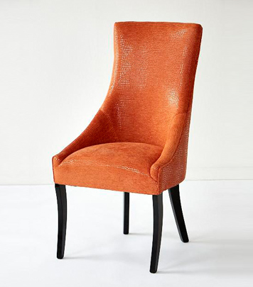 Orange Dining Chair